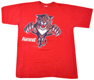 Vintage Florida Panthers 1993 Shirt Size Large