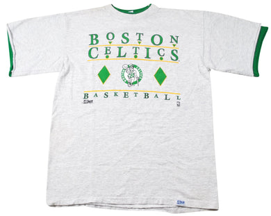 Vintage Boston Celtics 1992 Salem Sportswear Shirt Size Large