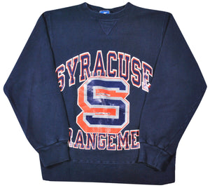 Vintage Syracuse Orange Champion Brand Made in USA Sweatshirt Size Small