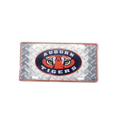 Vintage Auburn Tigers License Plate