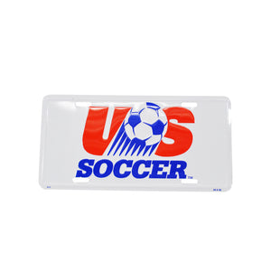 Vintage USA Soccer Olympic License Plate