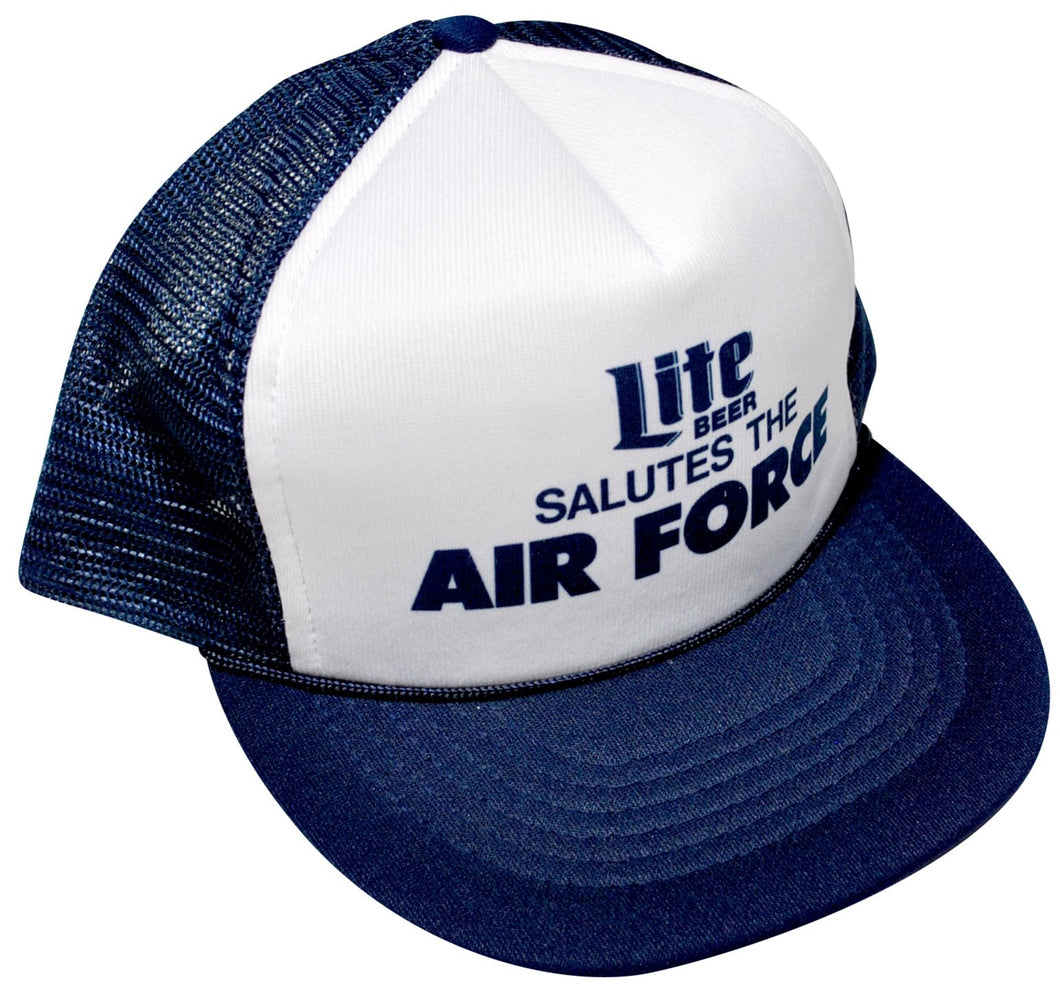 Vintage Lite Beer Salutes The Air Force Snapback