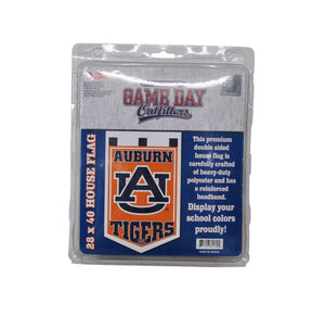 Vintage Auburn Tigers Double Sided Flag