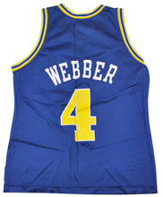 Vintage Champion Brand Golden State Warriors Chris Webber Jersey Size Small