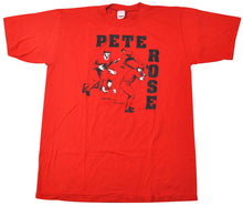 Vintage Cincinnati Reds 1985 Pete Rose Shirt Size Large