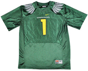 Vintage Oregon Ducks Nike Jersey Size Youth Large