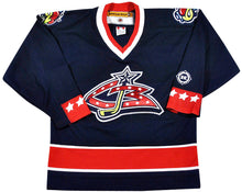 Vintage Columbus Blue Jackets Jersey Size Youth X-Large