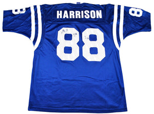 buy online 3afdc f7fe7 Vintage Indianapolis Colts Marvin Harrison Champion Brand Jersey Size Medium