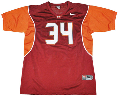 Vintage Virginia Tech Hokies Nike Jersey Size X-Large