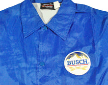 Vintage Busch Beer Jacket Size Medium
