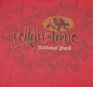 Vintage Yellowstone National Park Shirt Size Large