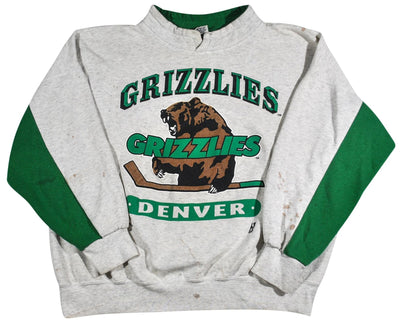 Vintage Denver Grizzlies Sweatshirt Size Large