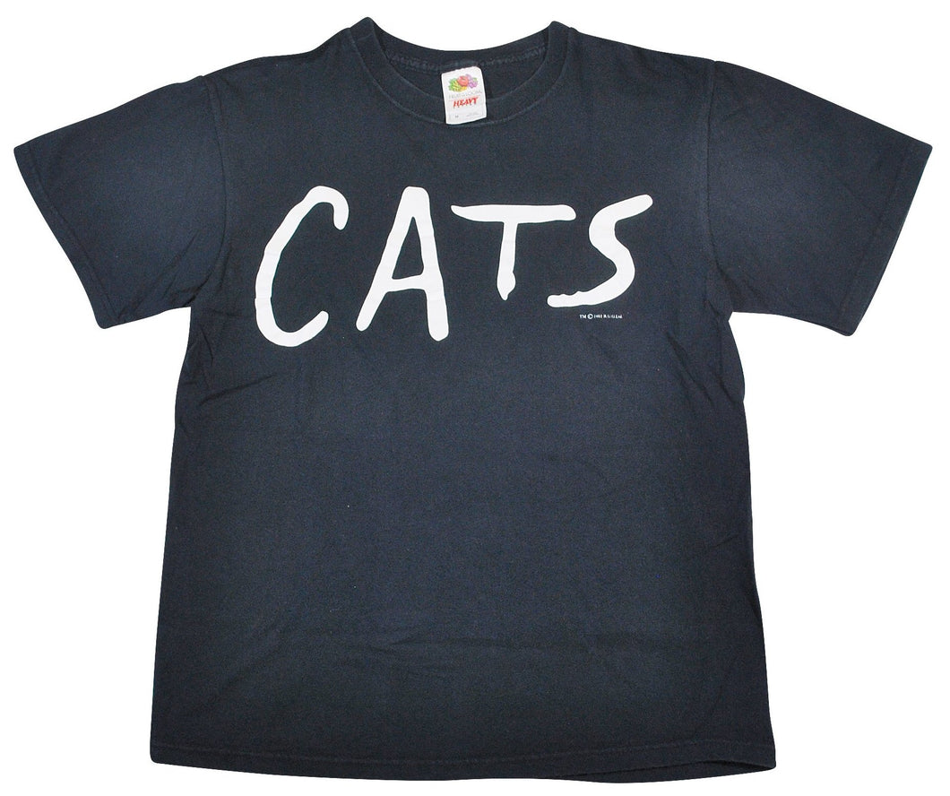 Vintage Cats Shirt Size Small