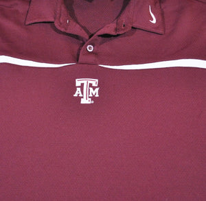 Vintage Texas A&M Aggies Nike Polo Size X-Large(wide)