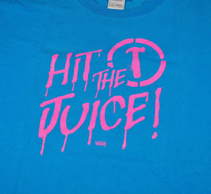 Vintage Hit The Juice Vans Shirt Size X-Large