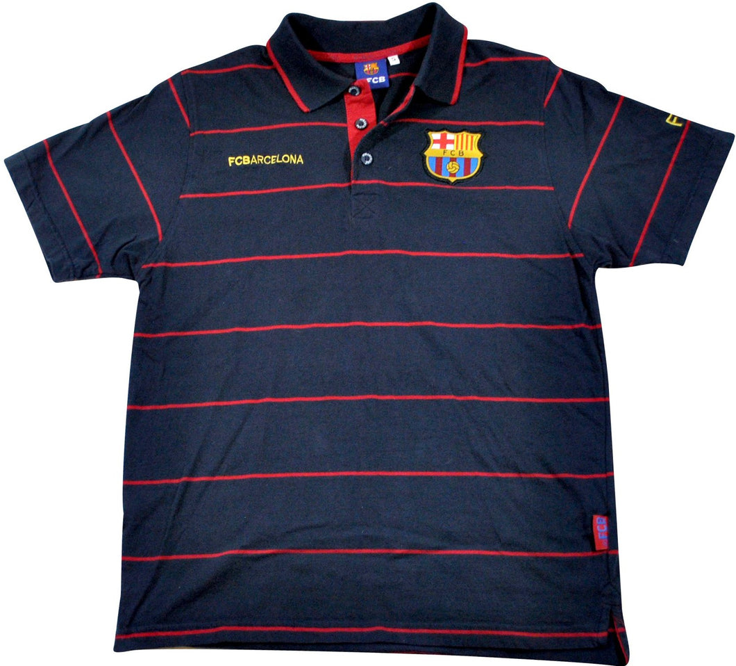 Vintage FC Barcelona Polo Size Small