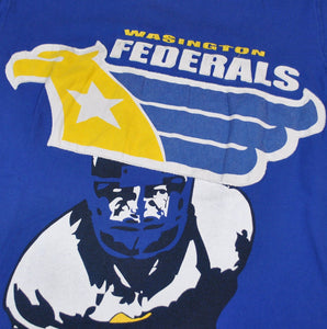 Vintage Washington Federals USFL Shirt Size X-Large