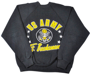Vintage US Army Ft. Buchanan 80s Sweatshirt Size Small