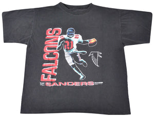 Vintage Atlanta Falcons 1992 Deion Sanders Shirt Size Large(wide)