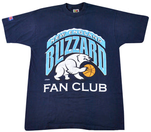 Vintage New England Blizzard Fan Club Shirt Size Large
