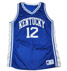 Vintage Kentucky Wildcats Champion Brand Jersey Size Large(tall)