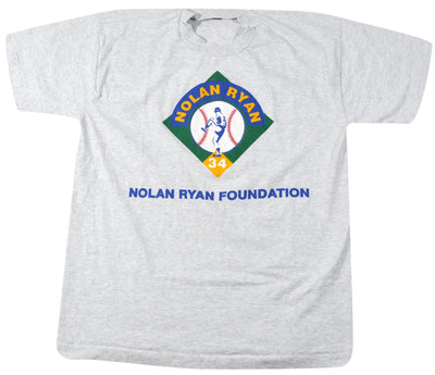 Vintage Nolan Ryan Foundation Shirt Size Large
