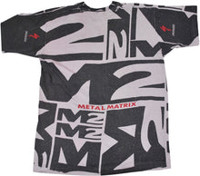 Vintage Specialized M2 Metal Matrix All Over Print Shirt Size X-Large