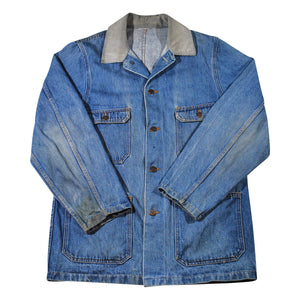Vintage Denim Jacket Size Large