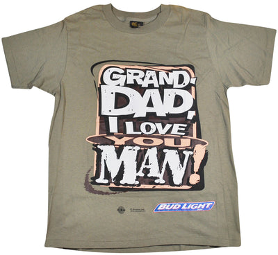 Vintage Bud Light 1996 Grand-Dad, I Love You Man! Shirt Size Large