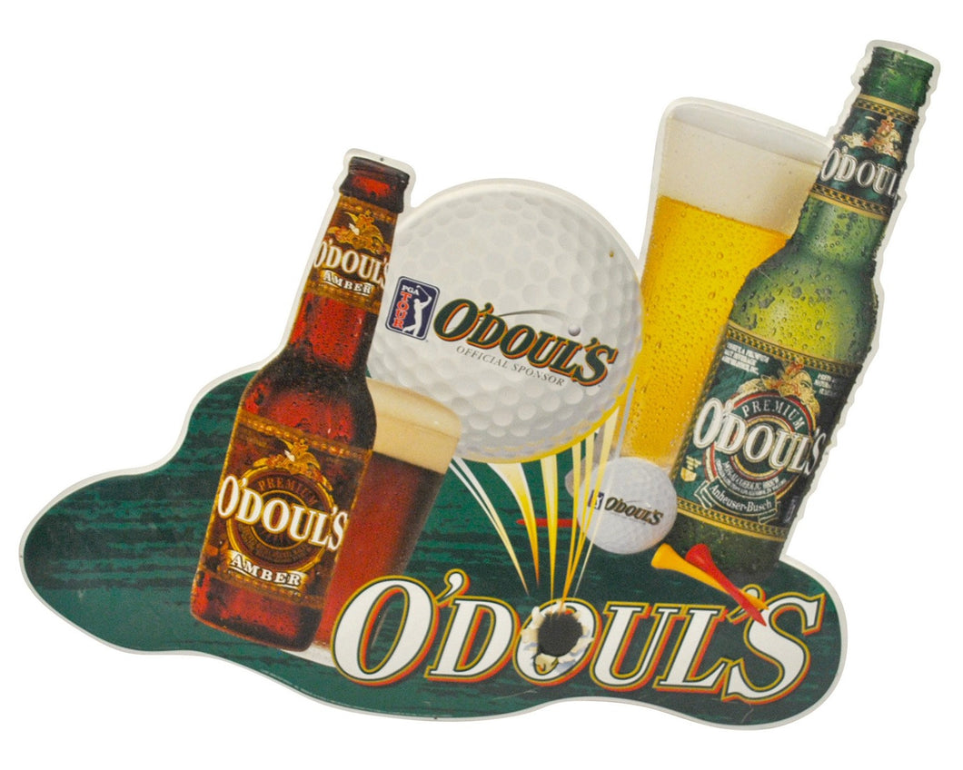 Vintage O'Doul's PGA Tour Metal Sign