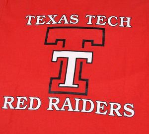 Vintage Texas Tech Red Raiders Shirt Size Medium