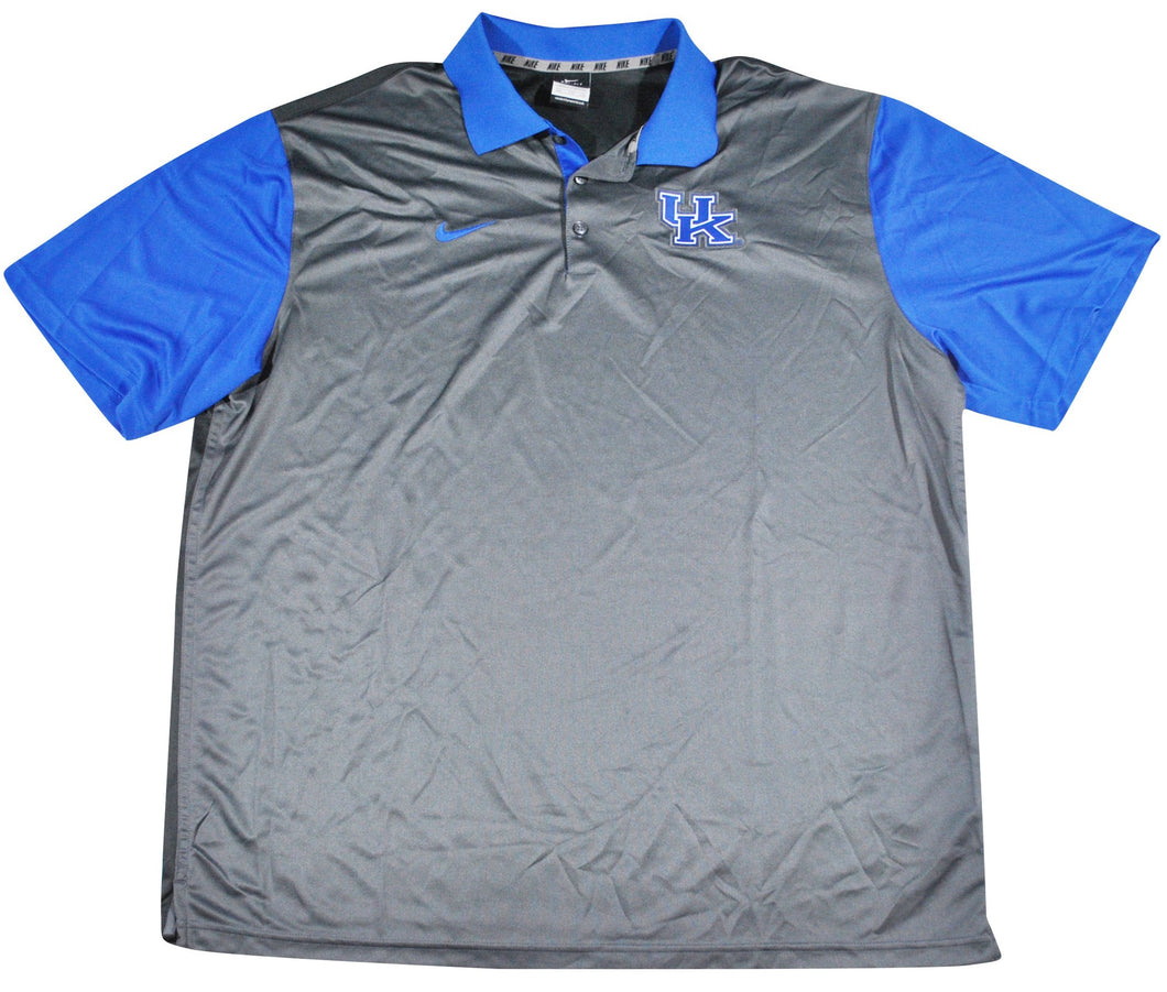Vintage Kentucky Wildcats Nike Polo Size 2X-Large