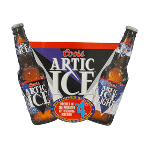 Vintage Coors Artic Ice Metal Sign
