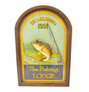 Vintage Fishing 3D Picture