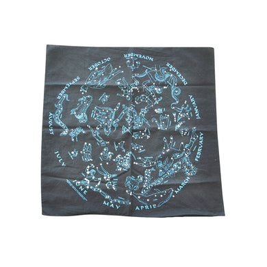 Vintage Astrology Sign Bandana