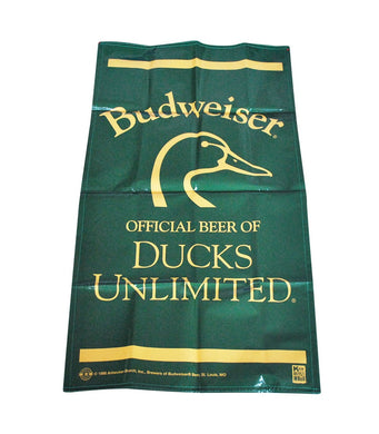 Vintage Budweiser 1998 Ducks Unlimited Banner