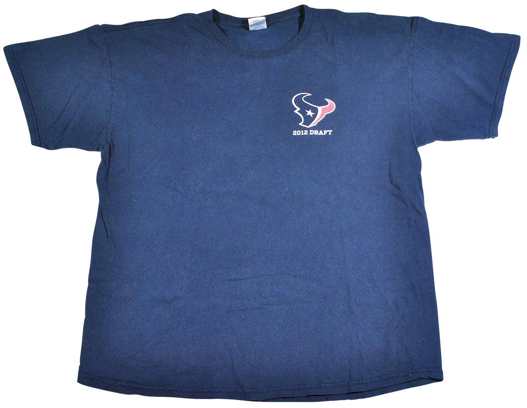 Vintage Houston Texans Path to the Draft Shirt Size X-Large