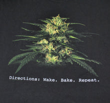 Vintage Wake. Bake. Repeat 2003 Weed Shirt Size Medium
