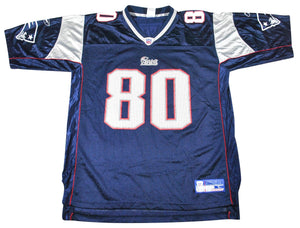 Vintage New England Patriots Troy Brown Jersey Size Large