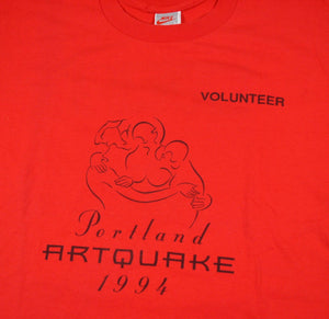 Vintage Nike Made in the USA Portland 1994 Volunteer Shirt Size Large