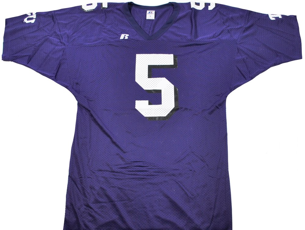 new arrival a02fb 75d4b Vintage TCU Horn Frogs Ladainian Tomlinson Russell Jersey Size Large