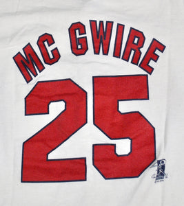 Vintage St. Louis Cardinals Mark McGwire Jersey Size Youth Medium