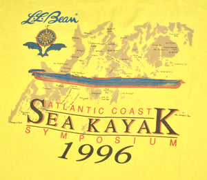 Vintage L.L. Bean 1996 Sea Kayak Atlantic Coast Symposium Shirt Size X-Large