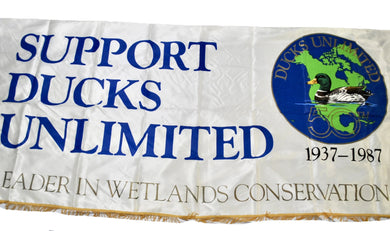 Vintage Ducks Unlimited 1987 Banner