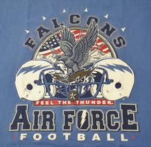Vintage Air Force Falcons Football Shirt Size Large