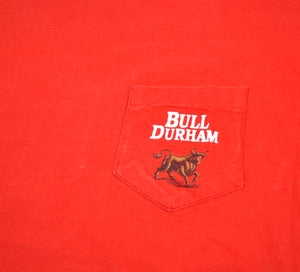 Vintage Bull Durham Tobacco Shirt Size Large(wide)