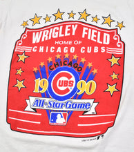 Vintage 1990 All Star Game Wrigley Field Chicago Cubs Shirt Size Small(tall)