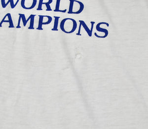 Vintage Kansas City Royals 1985 World Champions The Miracle Workers Shirt Size Medium