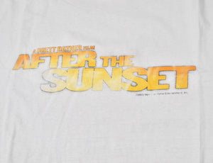 Vintage After The Sunset Movie Shirt Size X-Large