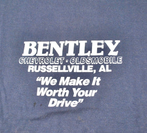 Vintage Bentley We Make It Worth Your Drive Shirt Size Large